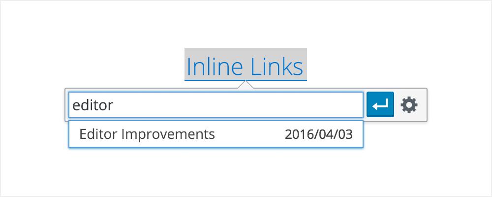 Inline linking i WP